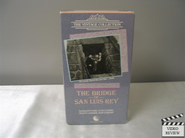 The Bridge of San Luis Rey (VHS) Lynn Bari Louis Calhern Francis Lederer