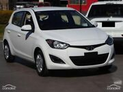 2015 Hyundai i20 PB MY16 Active White 6 Speed Manual Hatchback Moonah Glenorchy Area Preview