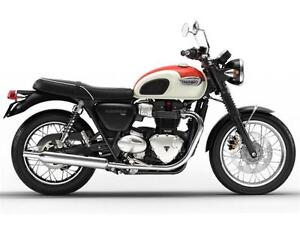 2017 Triumph Bonneville T120 Two-Tone