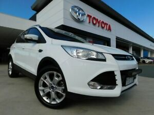 2016 Ford Kuga TF MY16.5 Trend AWD White 6 Speed Sports Automatic Wagon Greenway Tuggeranong Preview