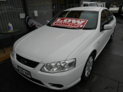 2006 Ford Falcon BF MkII Futura White 4 Speed Auto Seq Sportshift Sedan Hindmarsh Charles Sturt Area Preview