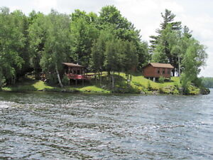 Land with two Cabins / Cottages for sale in Arden Ont.