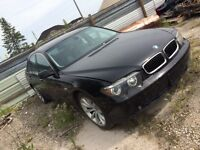 2005 BMW 745 FOR PARTS PARTS CAR Calgary Alberta Preview