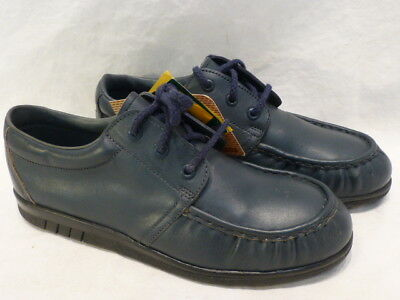 Double H Blue Moc Safety Toe Work Industry Mix Match Womens Shoes 6MR/5ML $190 for sale  Shipping to India