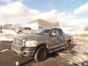 $179 BI WKLY OAC! 2008 DODGE RAM 5.7 LOW MILEAGE! NEW MVI!