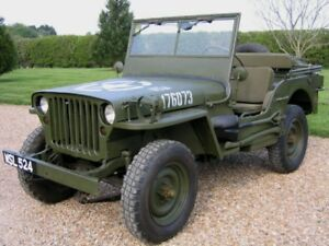 Wanted old army jeep