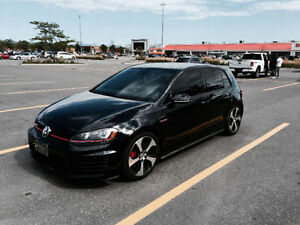 2016 VW GTI Performance Pack DSG - mint with H&R springs