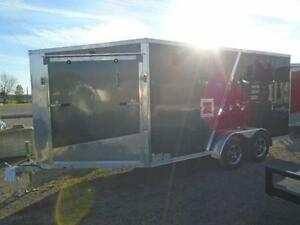 """19' ALL ALUMINUM DRIVE IN/OUT SPORT TRAILER W/ 6"""" EXTRA HEIGHT!! London Ontario image 4"""