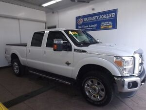 2014 Ford Super Duty F-350 LARIAT CREW 4X4 LEATHER NAVI SUNROOF