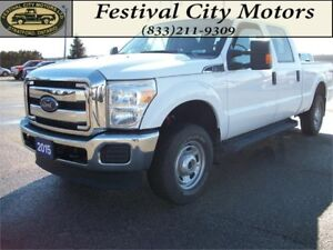 2015 Ford F250 XLT Crew Cab 4x4 | CERTIFIED