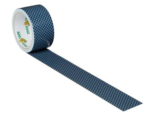 Coloured Duck Duct Gaffer Waterproof Tape CARBON FIBRE Repair Craft DIY Use
