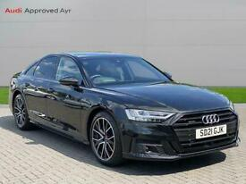 image for 2021 Audi A8 50 Tdi Quattro Black Edition 4Dr Tiptronic Saloon Diesel Automatic