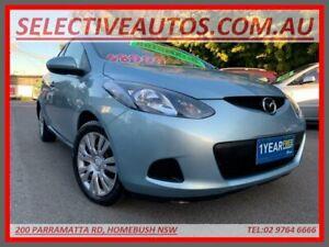 2009 Mazda 2 DE Neo Blue 4 Speed Automatic Hatchback Homebush Strathfield Area Preview