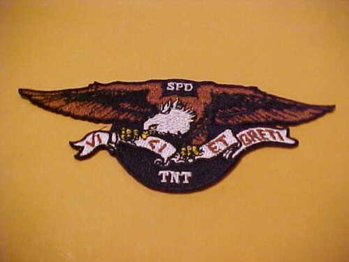 SPRINGFIELD OREGON TNT S.W.A.T. POLICE PATCH 5 X 2 INCH