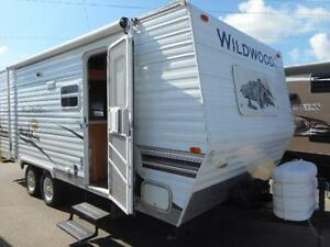 2008 WILDWOOD 22 - TRAVEL TRAILER