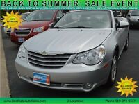 2008 Chrysler Sebring Touring Convertible with LEATHER