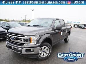 2018 Ford F-150 XLT|4x4|$95/wk|Backup Cam| CREW | 24 month
