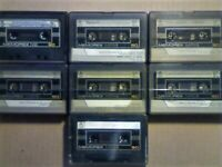 JL BATCH 2. £8 & FREE P&P. 7x MEMOREX = 6x MRXI 90 & 1x NB 90 CASSETTE TAPES. 1982-1986. JL OR SOLO