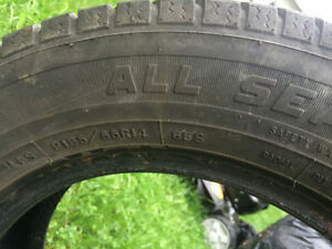 ** 2 ALL Season Goodrich Tires 185/70R15 **