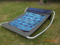 DOUBLE SUN LOUNGER ROCKING TYPE FOR 2 PERSONS (XL)