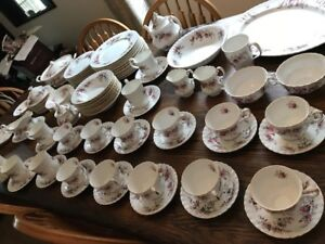 Royal Albert Lavender Rose 100 piece China Set