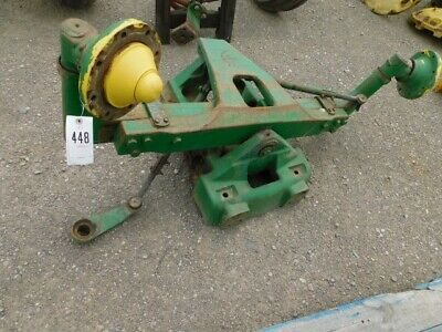 John Deere 4430 Tractor Wide Front End W Hubs Part R49563 Tag 448