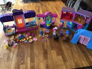 Lot 2 Figurines - Poupées Flipsies de VTech avec accesoires