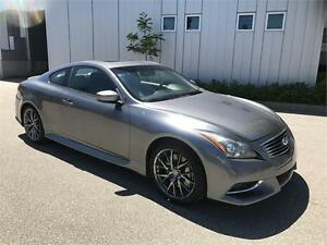 2011 INFINITI G37 COUPE IPL NAVIGATION 92KM 6SPEED MANUAL
