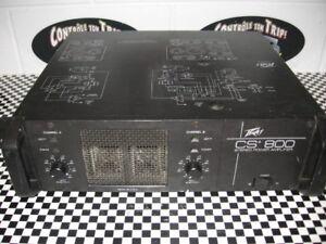 ampli peavey cs 800 ((nouveaux prix 340$ ))