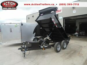 3.5 ton dump -GREAT FOR CITY JOBS AND TOWS EASILY 60'' X 10' BED London Ontario image 1