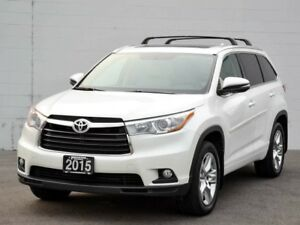 2015 Toyota Highlander Limited 4dr All-wheel Drive