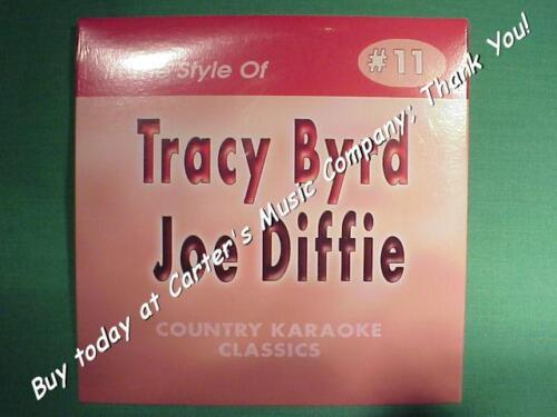 Tracy Byrd & Joe Diffie  Country Karaoke Classics  Vol. #11  CD+G  Karaoke  NEW