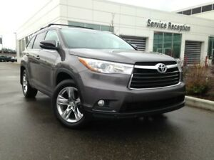 2015 Toyota Highlander Limited V6 AWD Navigation, Panoramic Sunr