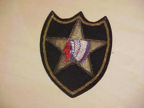 2nd ID Infantry Division PATCH Theater Made Bullion