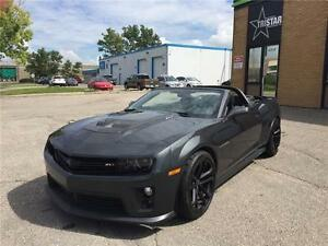 2013 Chevrolet Camaro ZL1 CONVERTIBLE SUPERCHARGED *WE FINANCE*