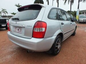 2002 Mazda 323 BJ II Astina Silver 4 Speed Automatic Hatchback Rosslea Townsville City Preview
