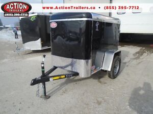 4x6 Atlas Enclosed - EASY TO HAUL W/ ANY VEHICLE!! London Ontario image 1