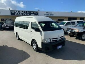 2013 Toyota HiAce KDH223R MY12 Upgrade Commuter French Vanilla 5 Speed Manual Bus Wangara Wanneroo Area Preview