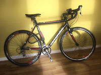 Cannondale CAADX Tiagra Cyclocross 56cm (Black and red) £650 (with extras) £550 (without extras)