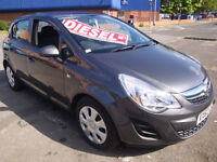 "62 VAUXHALL CORSA 1.3CDTi 16v ( s/s ) ( a/c ) """"£20 A YEAR ROAD TAX """""