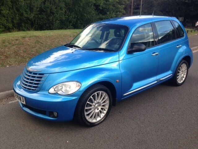 Chrysler Pt Cruiser Crd Limited 5dr  Pacific Blue Metallic