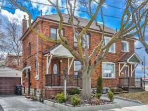 Investment Opportunity! Solid, Brick Home, Two-Storey Main Unit