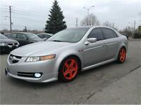 2006 Acura TL|NAV|LEATHER|SUNROOF|NO ACCIDENTS|UPGRADES!!!
