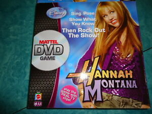 Hannah Montana Board DVD game all pieces and DVD included