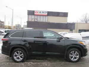 2016 Toyota Highlander LE AWD V6 7PASS ALLOYS CAMERA TOUCH SCREE