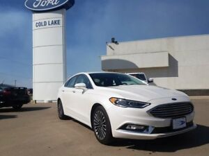 2017 Ford Fusion SE ALL WHEEL DRIVE, NAVIGATION, LEATHER HEATS F