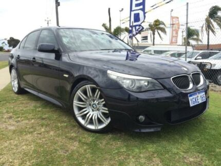 2008 BMW 523I E60 MY08 Steptronic Blue 6 Speed Sports Automatic Sedan Wangara Wanneroo Area Preview