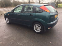 FORD FOCUS LX - FULL SERVICE HISTORY - CAM BELT DONE £590