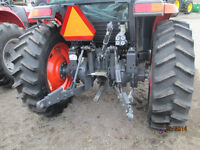 Ag tractor tires off of a Kubota L6060