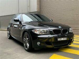 2011 BMW 118i E87 MY11 Black Automatic Hatchback Auburn Auburn Area Preview